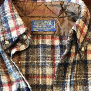 Vintage Pendleton Wool Button Down Men's Small